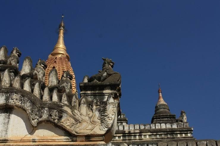 缅甸:万千烟云佛塔,东南亚最美日落,单脚划船~ 2011.