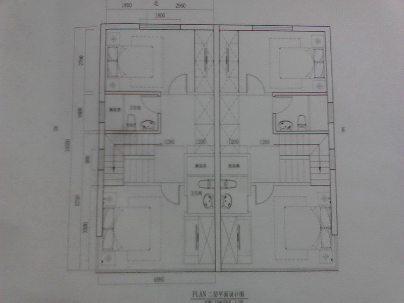 农村十万别墅平面设计图