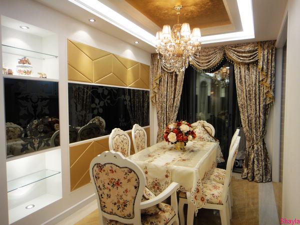 装修日记不断更新中 3室1厅小房型也可以很奢华 现代简欧风格完美展