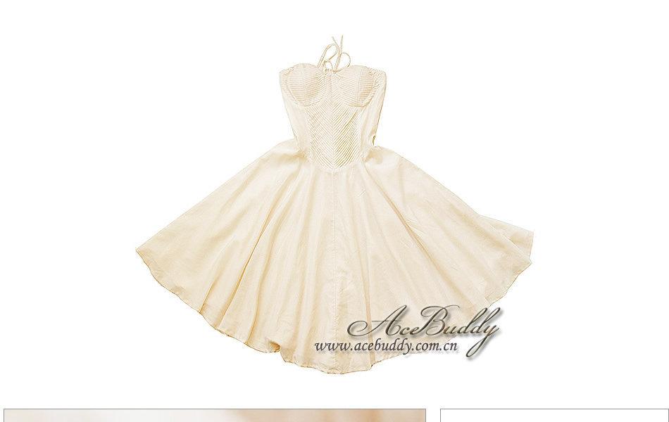 连衣裙 吊带裙