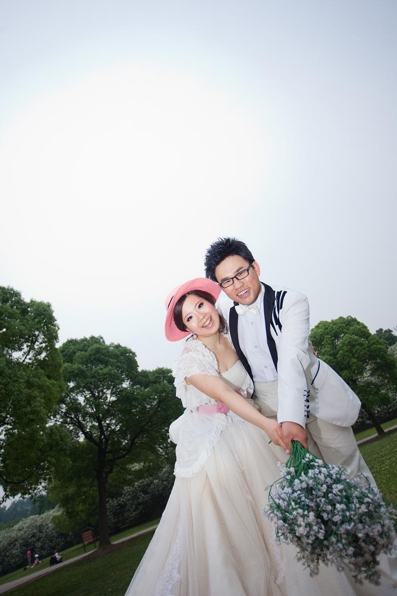 梦幻六月婚纱照【外滩夜景&森林公园&内景】