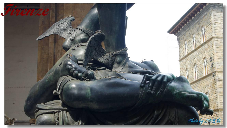 威尼斯 罗马/宙斯之子珀尔修斯的飞天脚、很细腻的雕刻呀