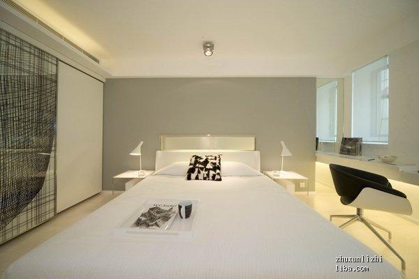白色门白色门套白色家具,墙壁一般涂什么颜色好看,最好附上