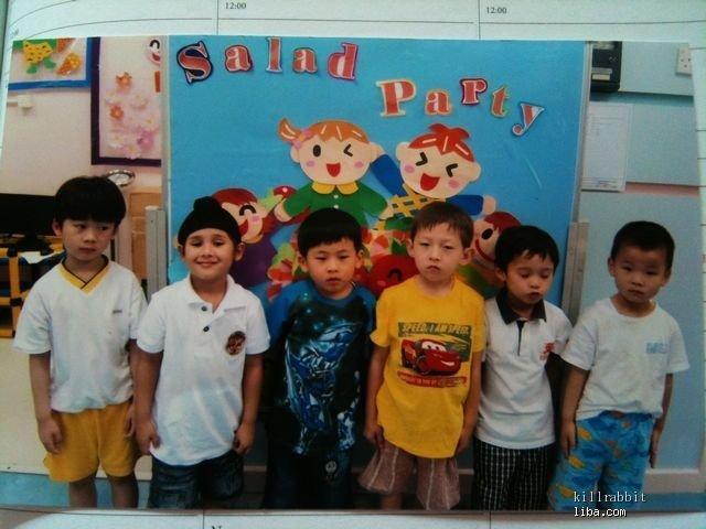 幼儿园照片_石头的脚印