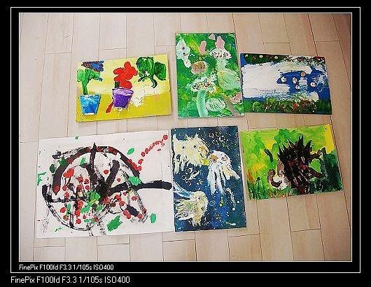 幼儿创意美术作品图片
