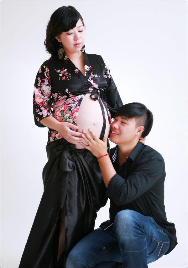 美丽孕妈妈照片