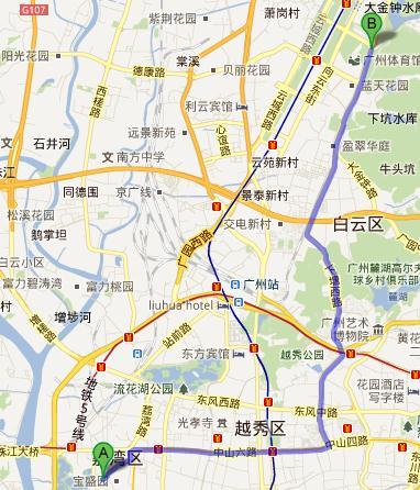 中山南街街道地图