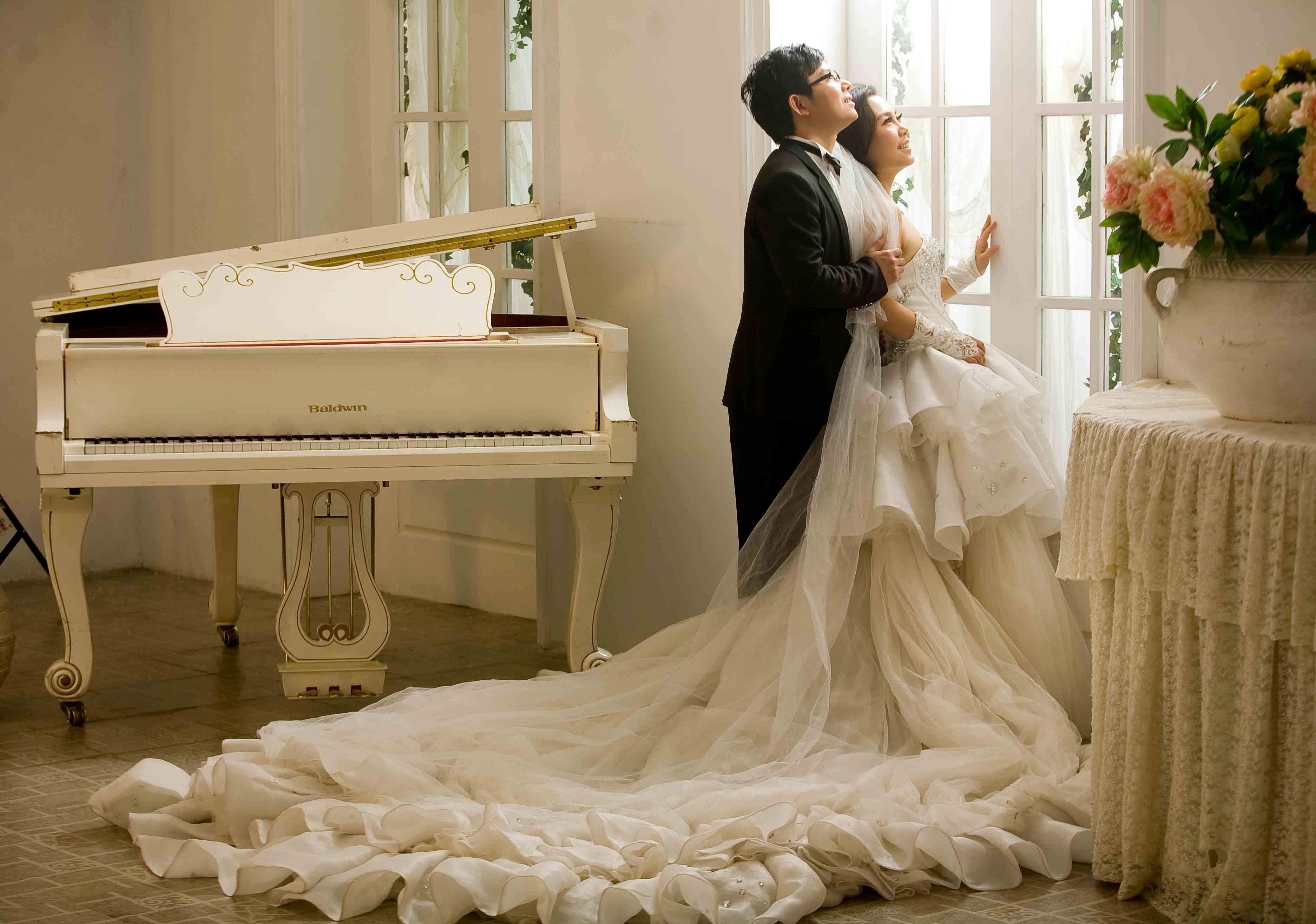 欧式唯美婚纱摄影