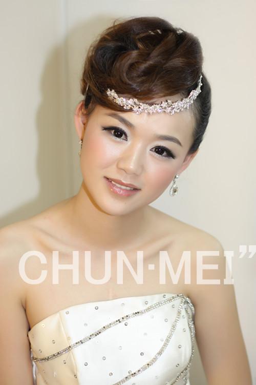 试妆归来 丹丹老师打造优雅派女王 波西米亚风 清雅韩式图片