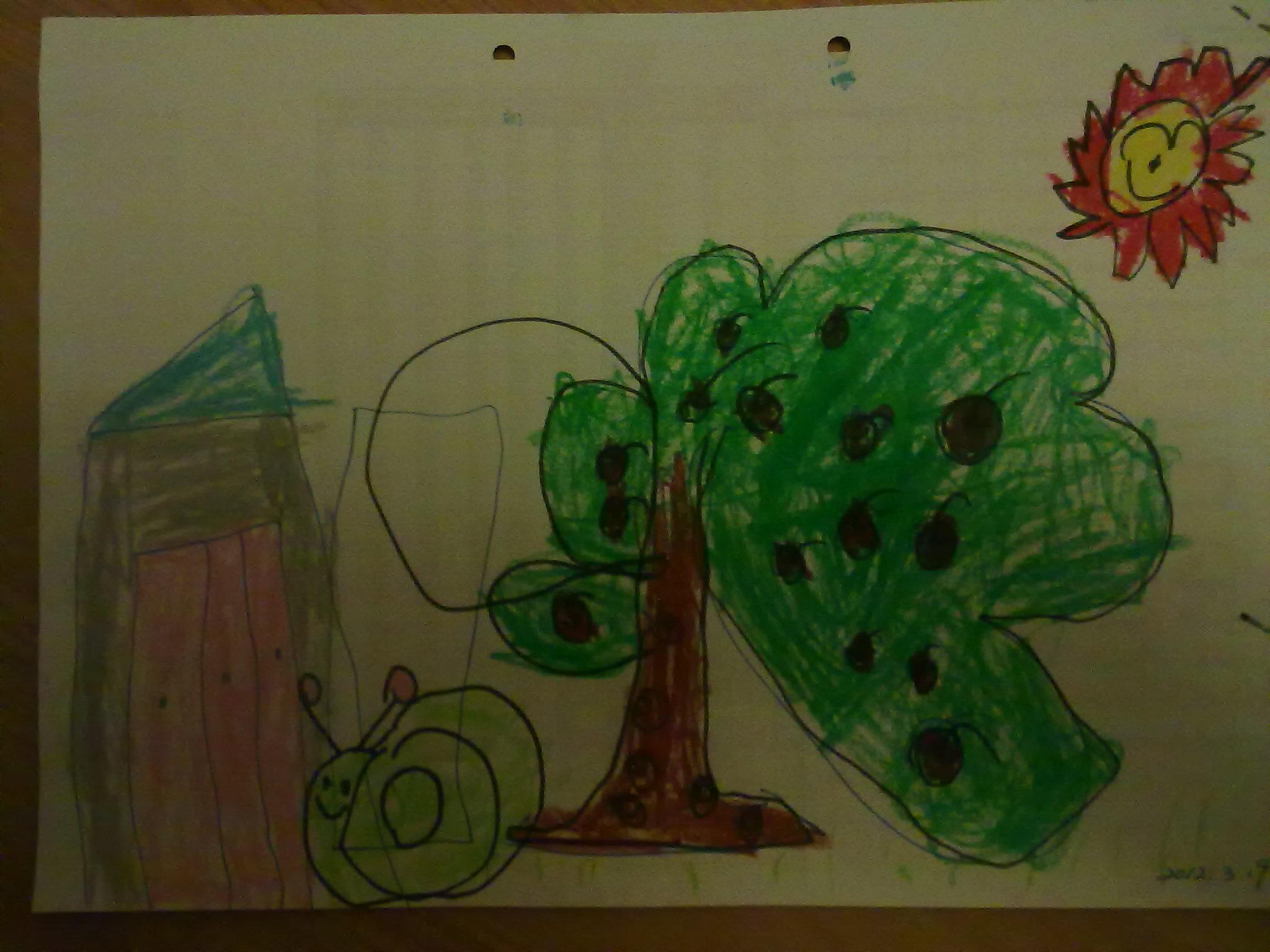 小班的小孩画图水平都怎么样了图片