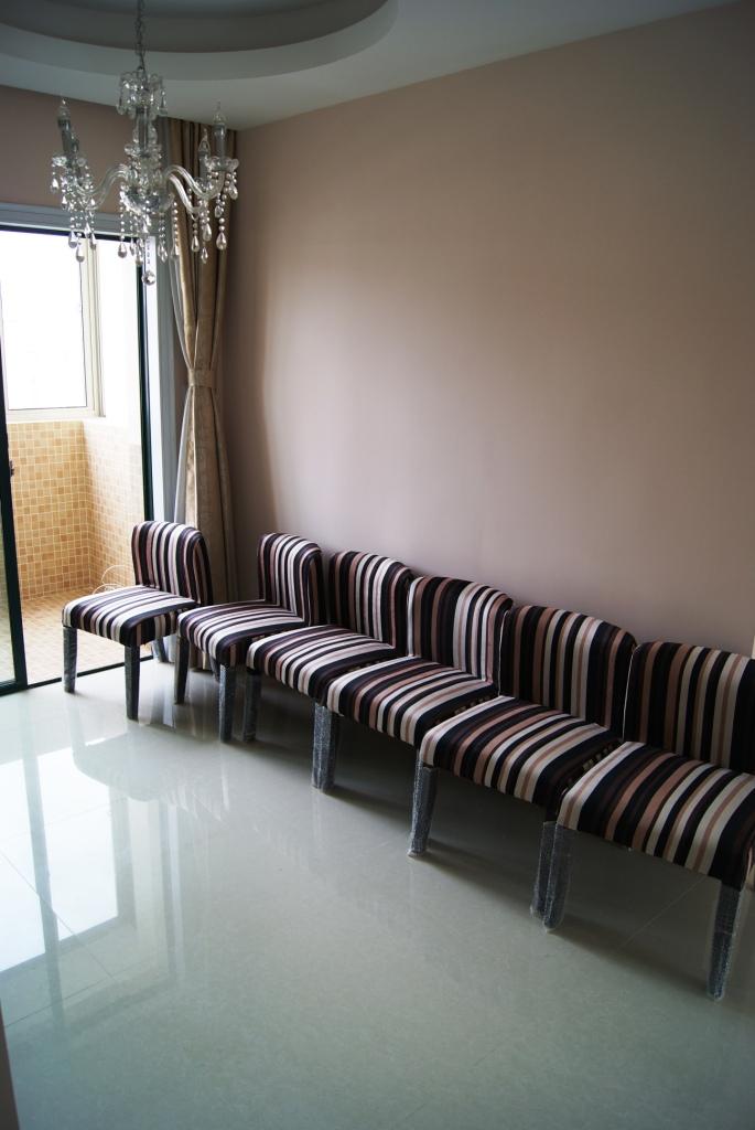 三室两厅一卫混搭风 客厅简约 餐厅田园 主卧美式 客卧宜家 装修完成高清图片
