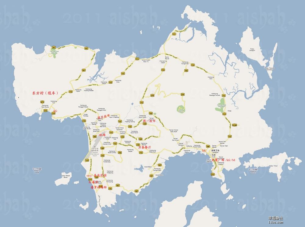 泰国丽贝岛位置地图