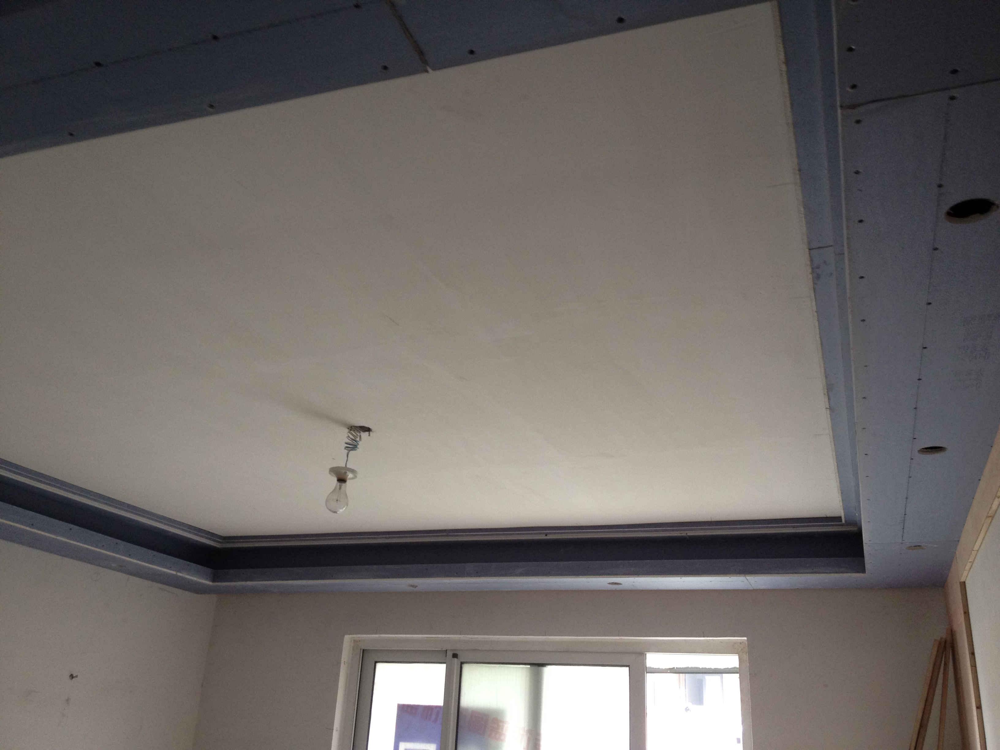 客厅石膏吊顶走线效果