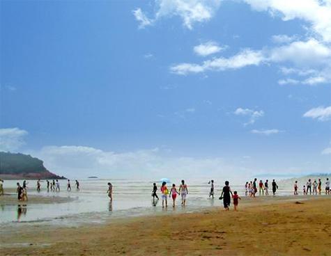 宁波风景区沙滩