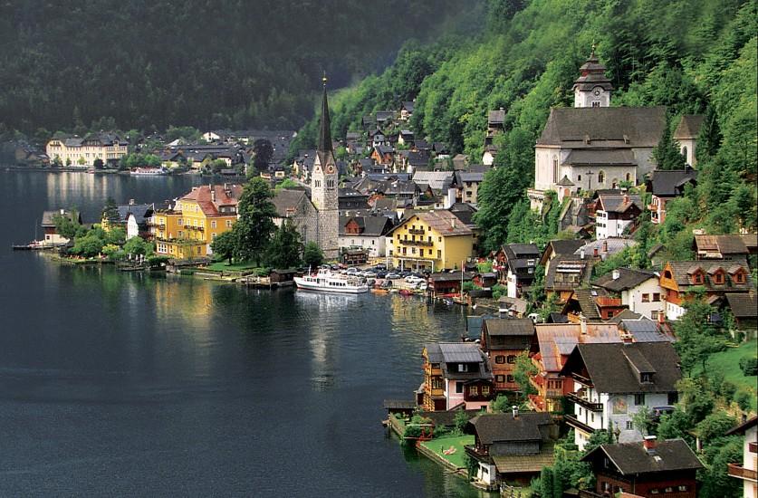 奥地利最美小镇随拍的照片~大家分享