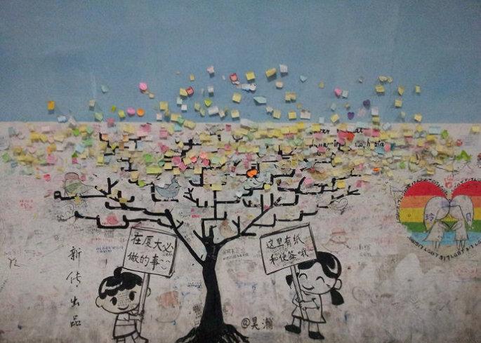 奶茶店 涂鸦 手绘