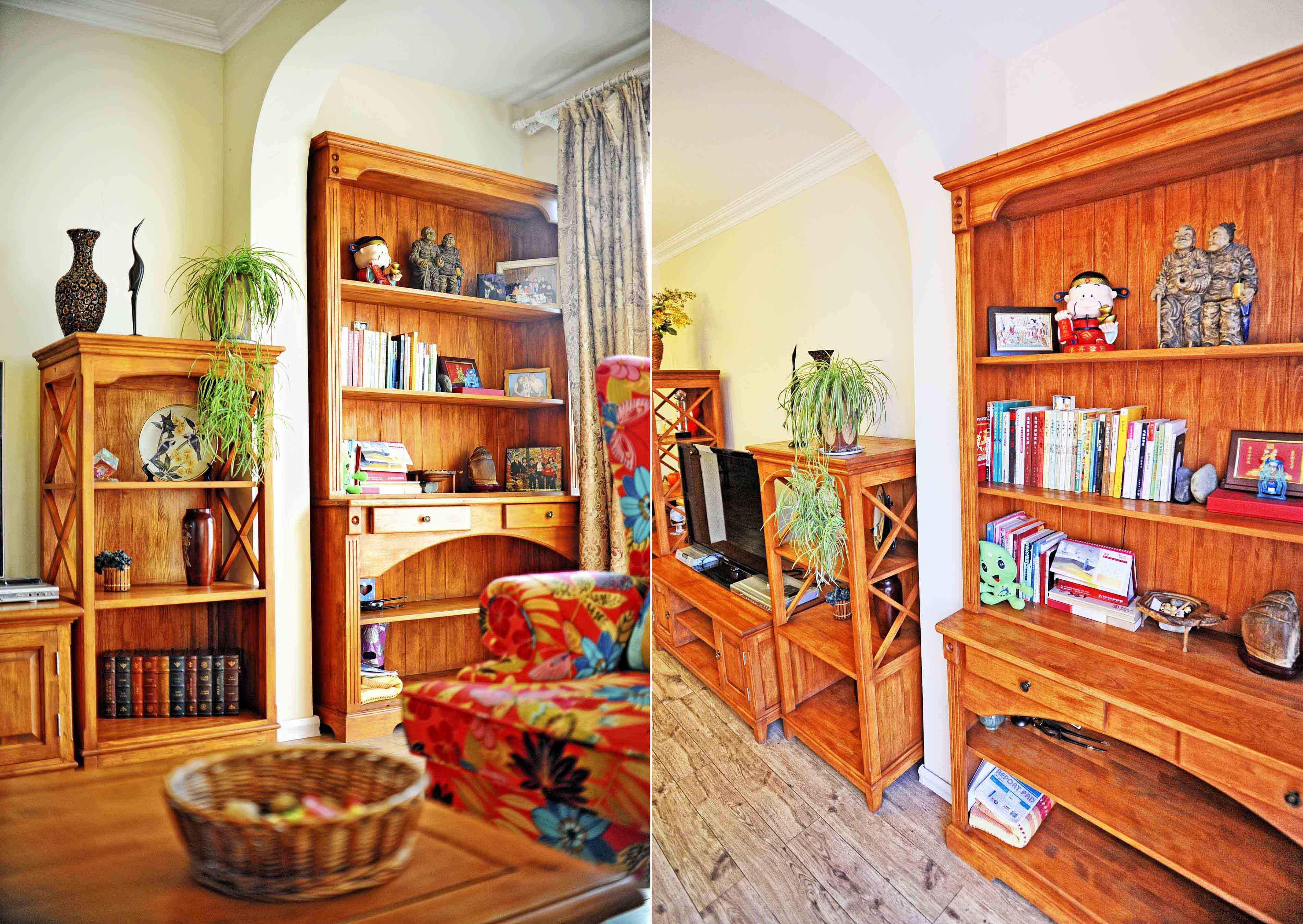 美式乡村风格儿童房的家具与布置