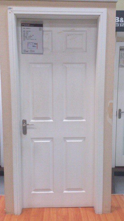 白色六格门,目前比较中意的房门款式