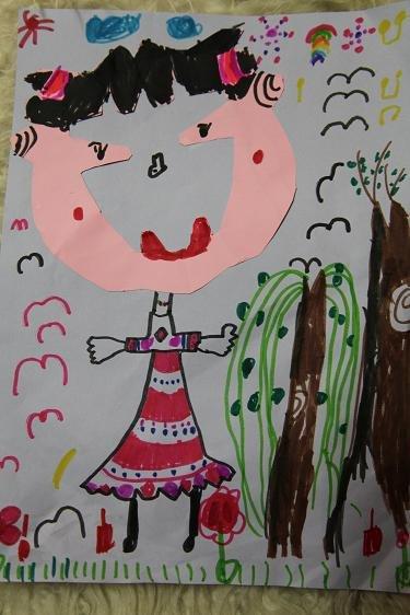 幼儿园美术创意区角参考图,棒棒哒!图片