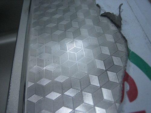 不锈钢,水立方花纹.