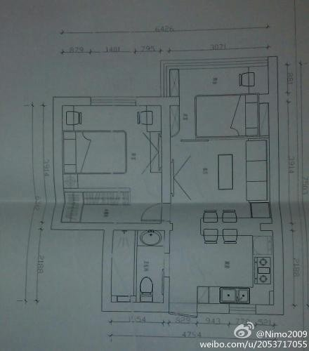 两间房子设计图80