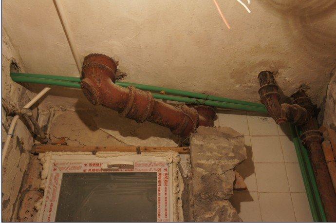 老房子的衛生間水管