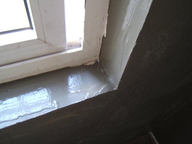 室内安装窗框的步骤
