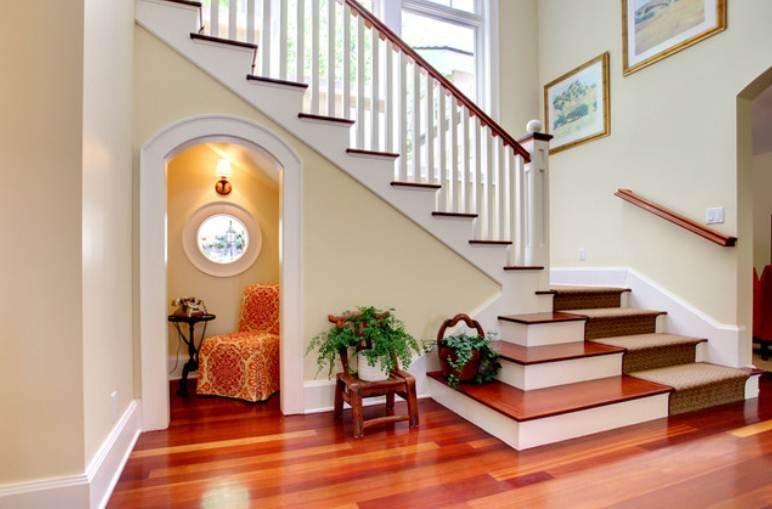 3房2厅带阁楼,我家的现代美式在路上- 硬装基本结束,等待衣帽间和楼梯