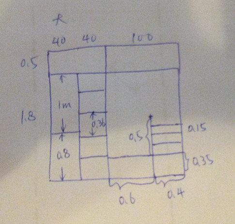 衣柜cad剖面设计图展示