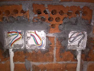 双开照明电路接线图