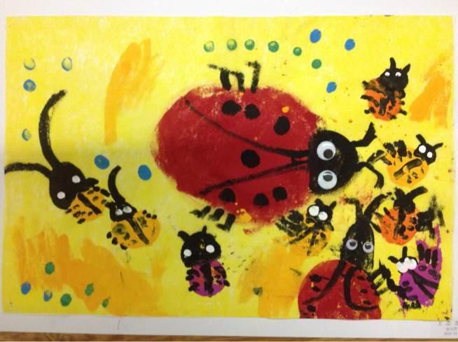 国画瓢虫的画法步骤