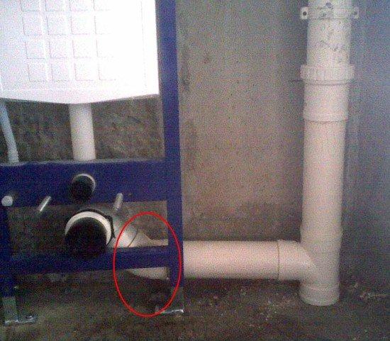 关于马桶移位关于挂壁式马桶的问题