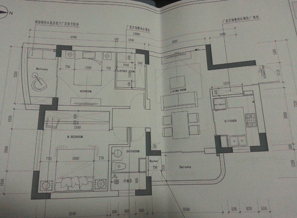 ps客厅地板平面图素材