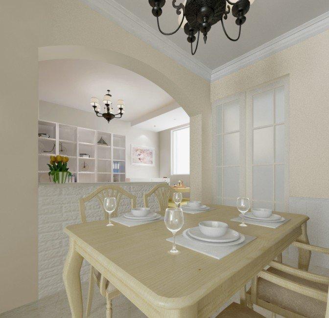 餐厅和敞开式书房   客厅   贴2张我们家的效果图吧,希望装出来的效果