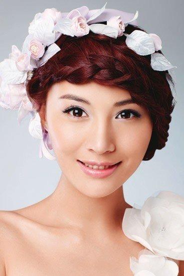 娘跟妆平面广告T台模特商务活动公司年会