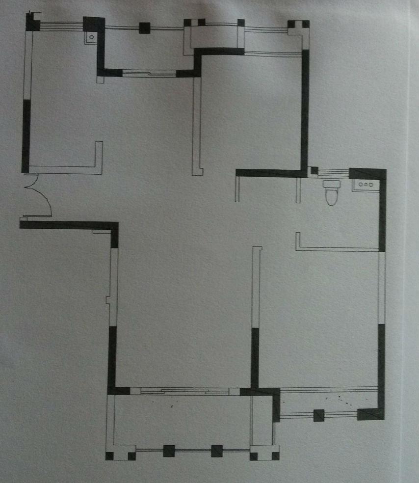 两室两厅一卫新房装修 风格 现代简约 by境远装饰李树辉设计