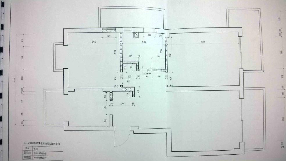 户型:两室一厅 建筑面积:99 装修公司:壹空间 装修方式:半包 装修风格:不知道(PS:其实一开始决定走简欧风格,但D丝LZ预算捉急,设计不断简化,渐渐变得只有简没有欧了******) 上图先 房型正气不?  层高3米45哦,有种弄个阁楼的冲动~