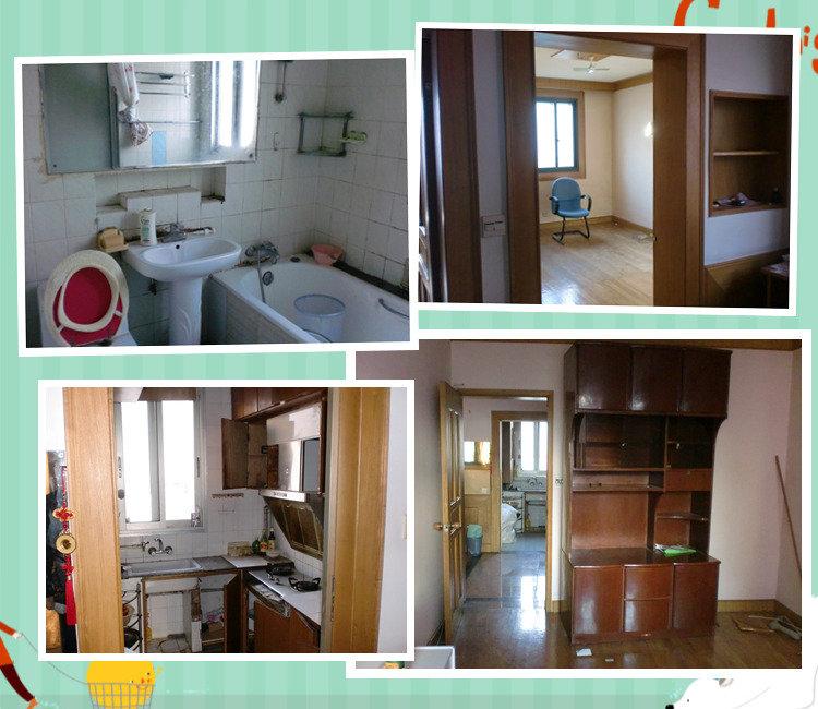 62平米小户型两室装修日记高清图片