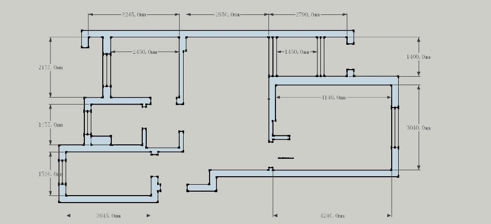 建筑木工二次结构图