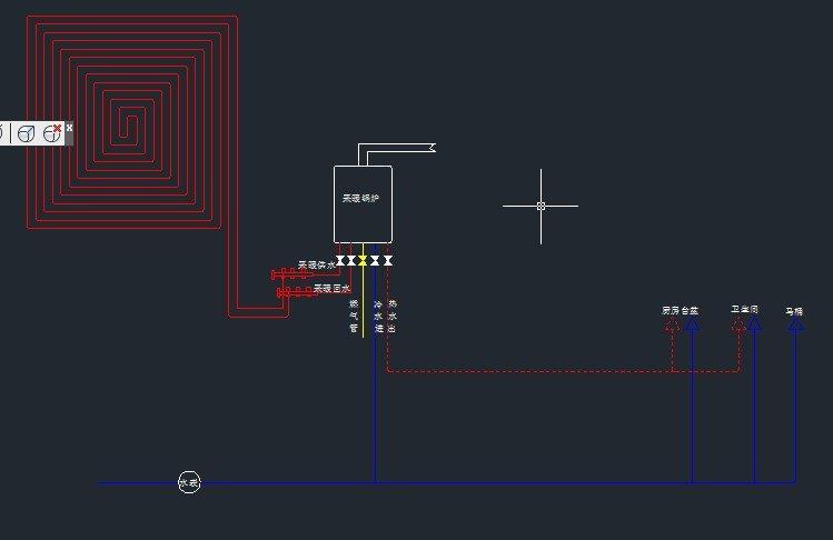 同外,就多了两根管子,这两根管子就是回水的供采暖管路;一个锅炉还可以建房贷款装修吗图片