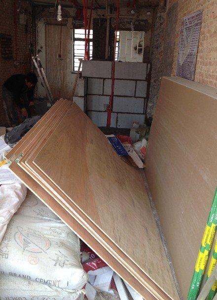装修小白进化史 论老房子的完整墙面处理步骤用料 卡座设计完成小户