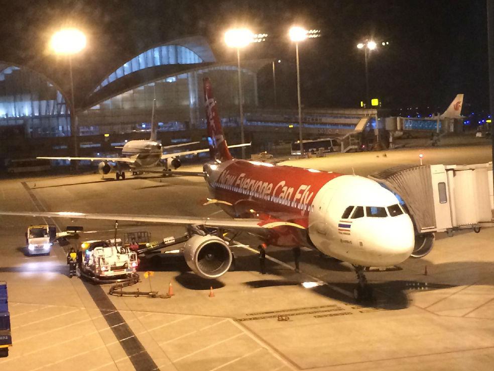 杭州到泰国飞机多久