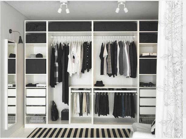 宜家小空间创意 衣柜轻松巧妙设计