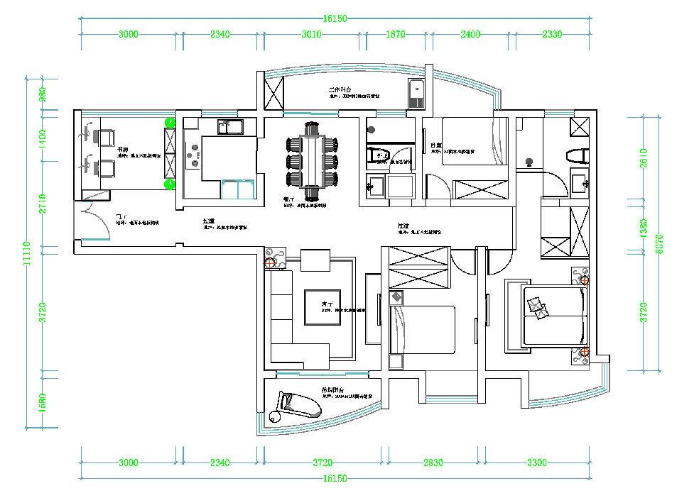 120平米农村房屋设计图|自建房房屋布局设计图|农村100平方房屋设计图