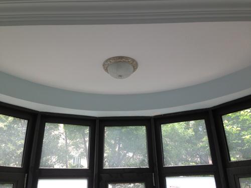 半圆弧阳台吸顶灯图片