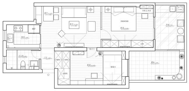 房型:2房1厅带天井实际面积共75平的老房 业主:Steel、Elaine夫妇 设计公司:C+创意空间 设计师:TYLER蔡岩竹 施工队长:杨吟东 工程监理:马延文 开工时间:2014.6.16 帖子和以往有些不同之处,是设计师本人所写,也是从事设计行业多年来首次写装修日记。 希望从设计师的角度,通过一套典型的老房改造案例,给众多已装修的和未装修的业主,把装修行业及装修过程中的很多细节都告诉大家,给大家在规划自己的房型及装修选择方面得到更多的参考意见,还有装修过程中更多不为人知的一面,前期中途及后期可能会