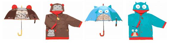 """另外,雨衣还有大口袋,""""长角""""并带有3d耳朵的帽子以及使用方便的啪啪扣"""
