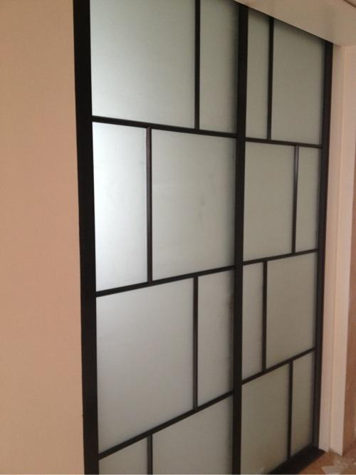 木工墙面格子造型