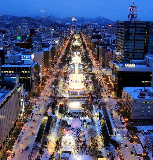 迟到的约定:2015年2月北海道冰雪节之旅~开贴图片