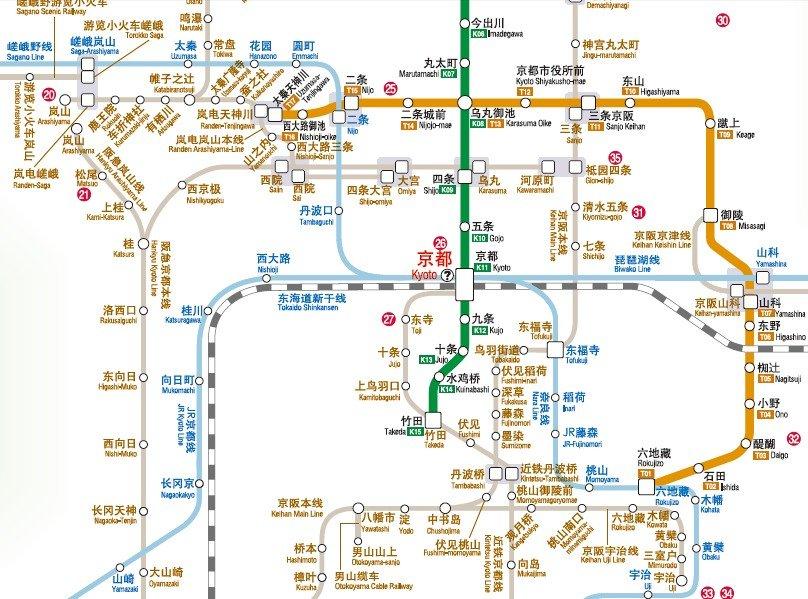 京都地图高清中文版pdf_京都地图中文版